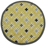 Carica l'immagine nel visualizzatore di Gallery, McAlister Textiles Laila Yellow Cotton Print Bread Basket Kitchen Accessories