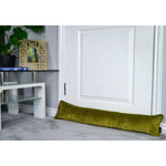 Carica l'immagine nel visualizzatore di Gallery, McAlister Textiles Matt Lime Green Velvet Draught Excluder Draught Excluders