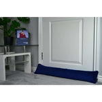 Load image into Gallery viewer, McAlister Textiles Matt Navy Blue Velvet Draught Excluder Draught Excluders