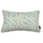 Load image into Gallery viewer, McAlister Textiles Little Leaf Duck Egg Blue Pillow Pillow Cover Only 50cm x 30cm