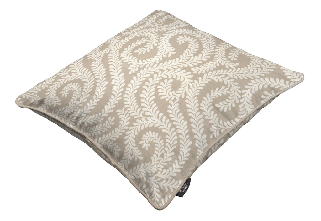 McAlister Textiles Little Leaf Pale Beige Pillow Pillow