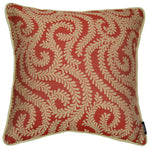 Carica l'immagine nel visualizzatore di Gallery, McAlister Textiles Little Leaf Burnt Orange Pillow Pillow Cover Only 43cm x 43cm