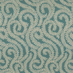 Load image into Gallery viewer, McAlister Textiles Little Leaf Teal Throw Throws and Runners