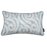 Load image into Gallery viewer, McAlister Textiles Little Leaf Wedgewood Blue Pillow Pillow Cover Only 50cm x 30cm