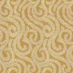 Load image into Gallery viewer, McAlister Textiles Little Leaf Ochre Yellow Fabric Fabrics 1 Metre