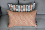 Load image into Gallery viewer, McAlister Textiles Elva Geometric Burnt Orange Pillow Pillow