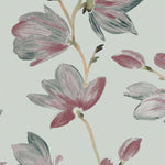 Laden Sie das Bild in den Galerie-Viewer, McAlister Textiles Magnolia Rose Floral Cotton Print Curtains Tailored Curtains