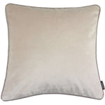 Carica l'immagine nel visualizzatore di Gallery, McAlister Textiles Matt Champagne Gold Velvet Cushion Cushions and Covers Cover Only 43cm x 43cm