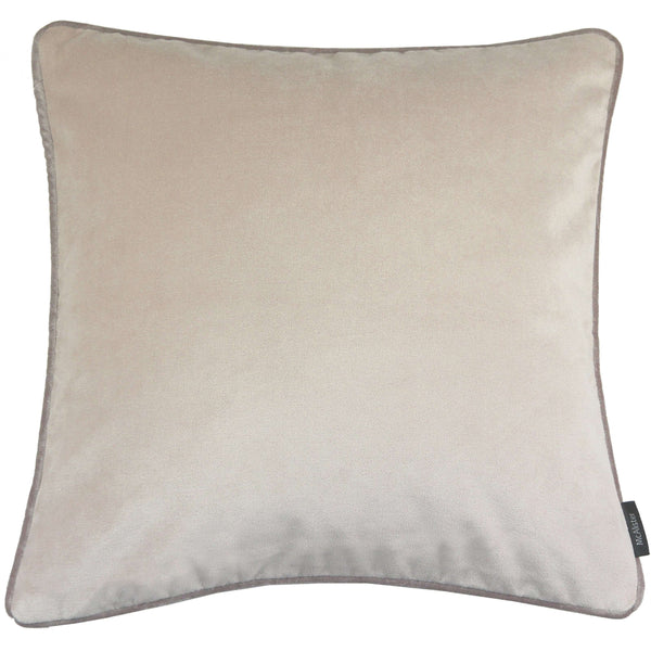 McAlister Textiles Matt Champagne Gold Velvet Cushion Cushions and Covers Cover Only 43cm x 43cm