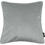 Load image into Gallery viewer, McAlister Textiles Matt Dove Grey Velvet Cushion Cushions and Covers Cover Only 43cm x 43cm