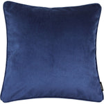 Load image into Gallery viewer, McAlister Textiles Matt Navy Blue Velvet Cushion Cushions and Covers Cover Only 43cm x 43cm
