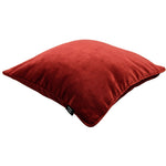 Charger l'image dans la galerie, McAlister Textiles Matt Rust Red Orange Velvet Pillow Pillow