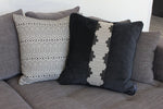 Load image into Gallery viewer, McAlister Textiles Colorado Geometric Black Cushion Cushions and Covers