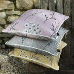 Carica l'immagine nel visualizzatore di Gallery, McAlister Textiles Meadow Blush Pink Floral Cotton Print Cushions Cushions and Covers
