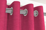 Charger l'image dans la galerie, McAlister Textiles Panama Plain Fuchsia Pink Curtains Tailored Curtains