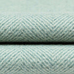 Load image into Gallery viewer, McAlister Textiles Herringbone Boutique Duck Egg Blue Throw Blanket Throws and Runners