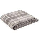 Load image into Gallery viewer, McAlister Textiles Heritage Charcoal Grey Tartan Bedding Set Bedding Set