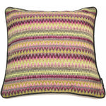 Carica l'immagine nel visualizzatore di Gallery, McAlister Textiles Curitiba Aztec Pink + Grey Aztec Cushion Cushions and Covers Cover Only 43cm x 43cm