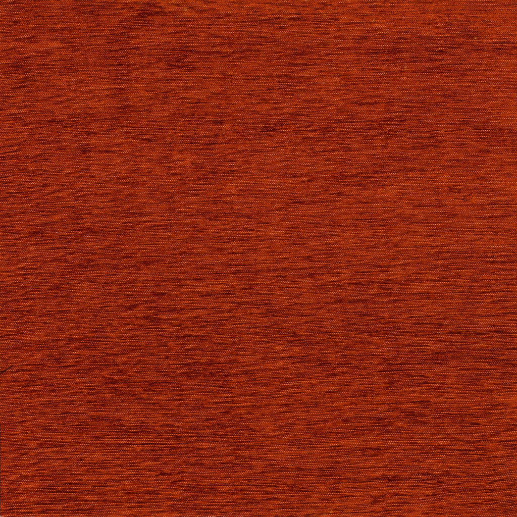 McAlister Textiles Plain Chenille Burnt Orange Fabric Fabrics
