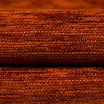 Load image into Gallery viewer, McAlister Textiles Plain Chenille Burnt Orange Fabric Fabrics