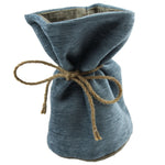 Load image into Gallery viewer, McAlister Textiles Alston Chenille Blue + Beige Door Stop Doorstops