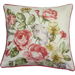 Load image into Gallery viewer, McAlister Textiles Novelty Vintage Floral Velvet Cushion Cushions and Covers Polyester Filler