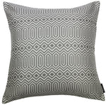 Laden Sie das Bild in den Galerie-Viewer, McAlister Textiles Colorado Geometric Charcoal Grey Pillow Pillow