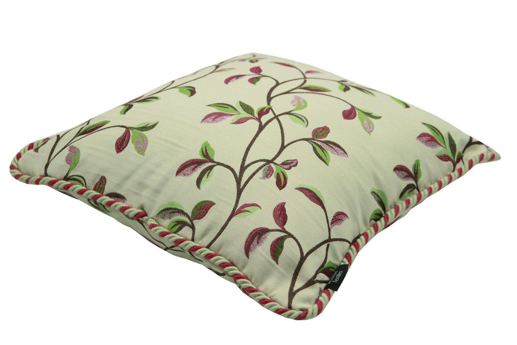 McAlister Textiles Annabel Floral Cherry Red Pillow Pillow