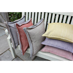 Load image into Gallery viewer, McAlister Textiles Rhumba Accent Burnt Orange + Grey Cushion Cushions and Covers