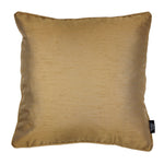 Charger l'image dans la galerie, McAlister Textiles Rocco Plain Faux Silk Gold Cushion Cushions and Covers Cover Only 43cm x 43cm