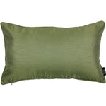 Load image into Gallery viewer, McAlister Textiles Rocco Plain Faux Silk Green Pillow Pillow Cover Only 50cm x 30cm