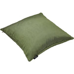 Load image into Gallery viewer, McAlister Textiles Rocco Plain Faux Silk Green Cushion Cushions and Covers
