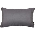 Load image into Gallery viewer, McAlister Textiles Rocco Plain Faux Silk Silver Grey Pillow Pillow Cover Only 50cm x 30cm