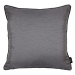 Load image into Gallery viewer, McAlister Textiles Rocco Plain Faux Silk Silver Grey Cushion Cushions and Covers Cover Only 43cm x 43cm