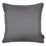 Load image into Gallery viewer, McAlister Textiles Rocco Plain Faux Silk Silver Grey Pillow Pillow