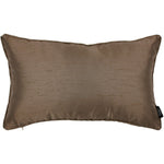 Load image into Gallery viewer, McAlister Textiles Rocco Plain Faux Silk Bronze Pillow Pillow Cover Only 50cm x 30cm