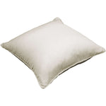 Laden Sie das Bild in den Galerie-Viewer, McAlister Textiles Rocco Plain Faux Silk Natural Pillow Pillow