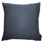 Load image into Gallery viewer, McAlister Textiles Rocco Contrast Faux Silk Light + Navy Blue Cushion Cushions and Covers Cover Only 43cm x 43cm