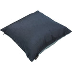 Load image into Gallery viewer, McAlister Textiles Rocco Contrast Faux Silk Blue + Navy Blue Pillow Pillow
