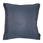 Load image into Gallery viewer, McAlister Textiles Rocco Plain Faux Silk Navy Blue Pillow Pillow