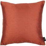 Laden Sie das Bild in den Galerie-Viewer, McAlister Textiles Rocco Contrast Faux Silk Orange + Taupe Cushion Cushions and Covers Cover Only 43cm x 43cm