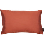 Load image into Gallery viewer, McAlister Textiles Rocco Contrast Faux Silk Orange + Taupe Cushion Cushions and Covers Cover Only 50cm x 30cm