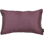 Load image into Gallery viewer, McAlister Textiles Rocco Plain Faux Silk Purple Pillow Pillow Cover Only 50cm x 30cm