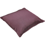 Load image into Gallery viewer, McAlister Textiles Rocco Plain Faux Silk Purple Pillow Pillow