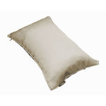 Load image into Gallery viewer, McAlister Textiles Rocco Plain Faux Silk Taupe Cushion Cushions and Covers