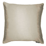 Load image into Gallery viewer, McAlister Textiles Rocco Plain Faux Silk Taupe Pillow Pillow Cover Only 43cm x 43cm