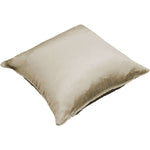 Load image into Gallery viewer, McAlister Textiles Rocco Plain Faux Silk Taupe Pillow Pillow