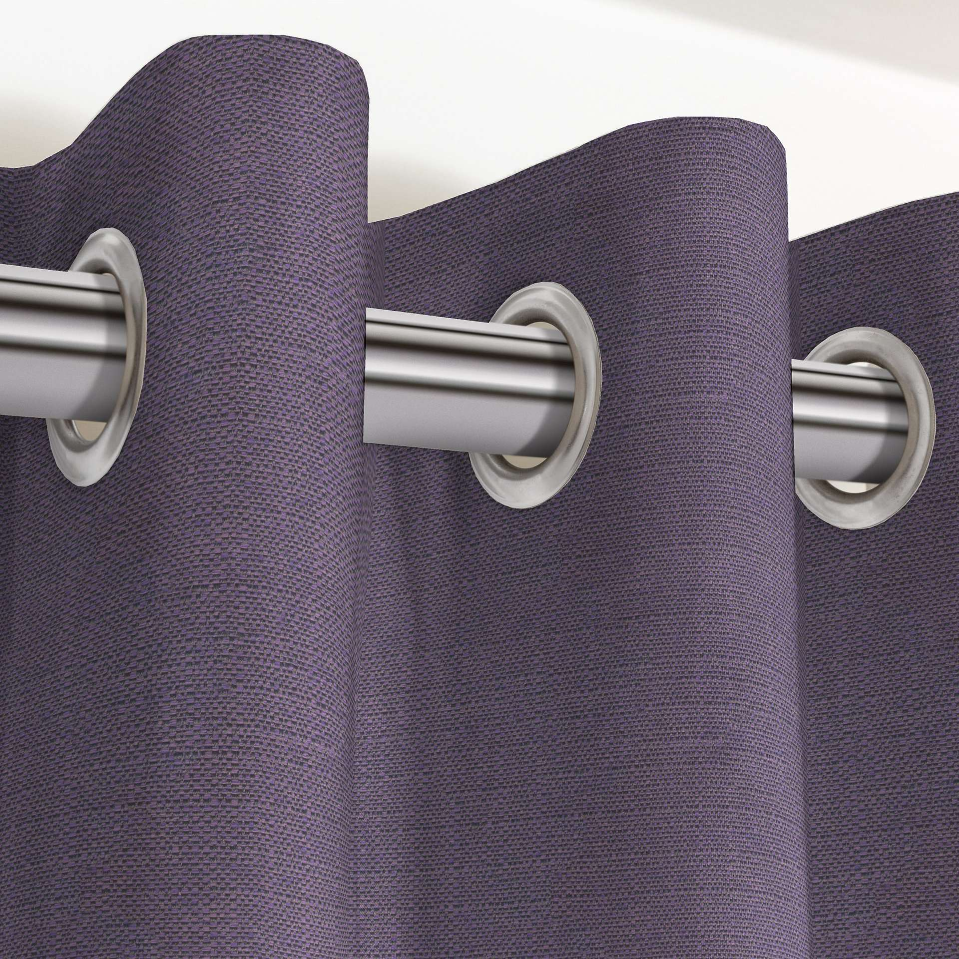 McAlister Textiles Savannah Aubergine Purple Curtains Tailored Curtains
