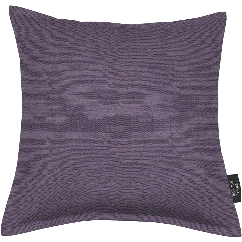 McAlister Textiles Savannah Aubergine Purple Cushion Cushions and Covers Cover Only 43cm x 43cm