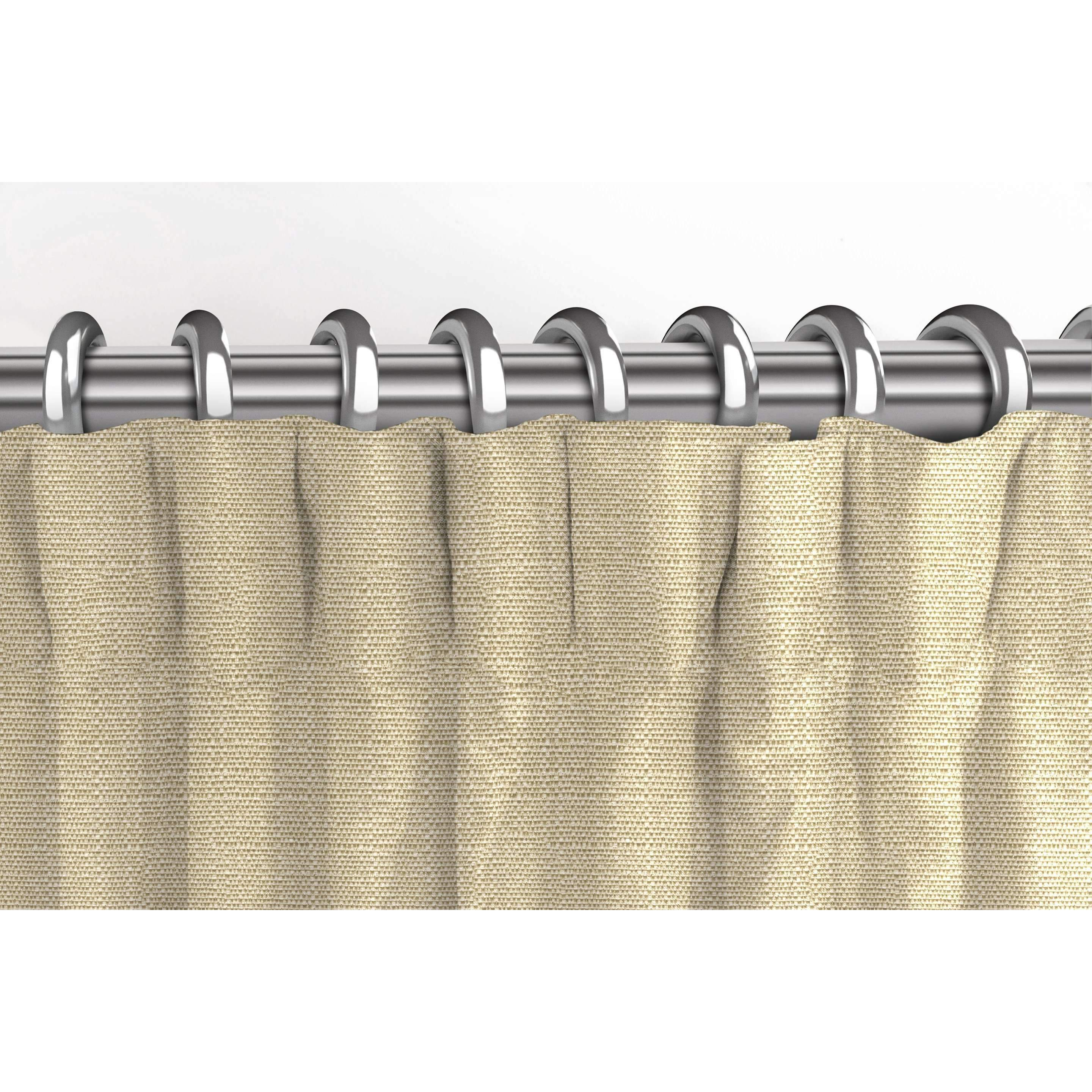 McAlister Textiles Savannah Beige Grey Curtains Tailored Curtains